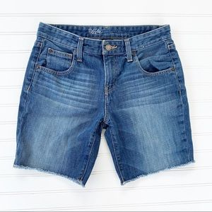 Mossimo Blue Denim Boyfriend Shorts